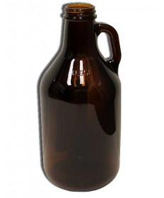 1/4 Gallon Glass Jug- Amber
