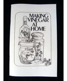 Making Vinegar At Home