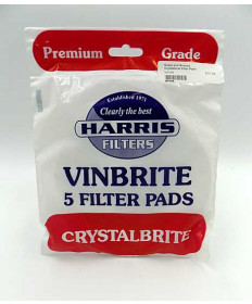 Crystalbrite Filter Pads- pack of 5