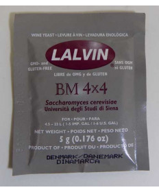 BM 4x4: Lalvin 5 g