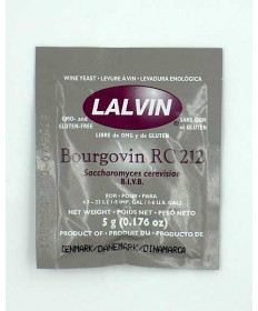 Red Burgundy: Lalvin 5 g RC212