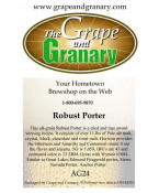 Robust Porter: All Grain