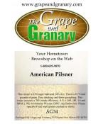 American Pilsner: All Grain