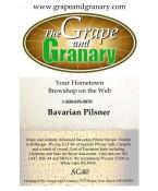 Bavarian Pilsner: All Grain