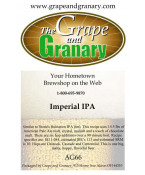 Imperial IPA: All Grain