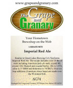 Imperial Red Ale Kit: All Grain