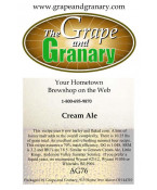 Cream Ale: All Grain
