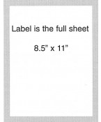 Plain #B10000- 4th and Vine Labels