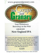 New England IPA- Exract w/ Grain Steeping