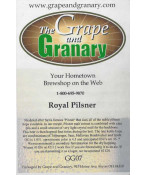 Royal Pilsner- G & G