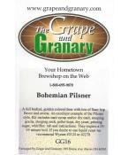 Bohemian Pilsner- G & G
