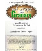 American Dark Lager: GG
