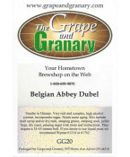 Belgian Abbey Dubel: GG