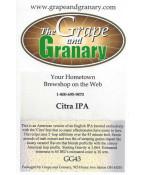 Citra IPA- G & G