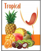 Exotic Fruit- Label