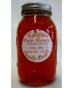 Kaspers Pure Local Honey- 3 lb jar