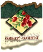 Cranberry Wine Label