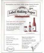 Label Making Paper- White