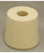 #5-1/2 Drilled Rubber Stopper