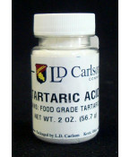 Tartaric Acid- 2 oz