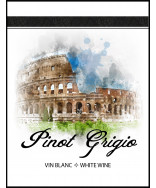 Pinot Grigio- Wine Label