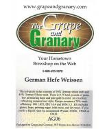 Hefe Weissen: All Grain