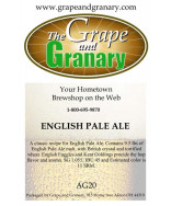 English Pale Ale: All Grain