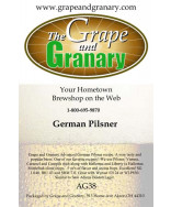 German Pilsner: All Grain