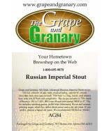 Russian Imperial Stout: All Grain