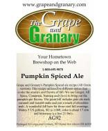 Pumpkin Spice Ale: All Grain