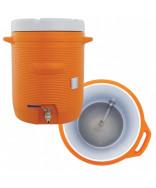 Igloo Mash Cooler- 10 Gallon w/ Ball Valve