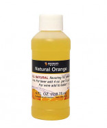 Orange Flavor-  4 oz Bottle