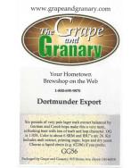 Dortmunder Export- G & G
