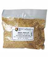 Rice Hulls- 1 lb bag