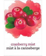 Cranberry Mist Label