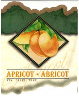Apricot Wine Label