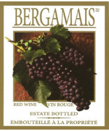 Bergamais- Wine Label
