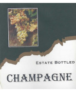 Champagne- Wine Label
