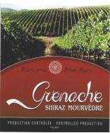 Grenache/Syrah/Mour Label