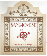 Sangiovese- Wine Label