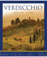 Verdicchio- Wine Label