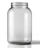 One Gallon Glass Jug- Wide Mouth