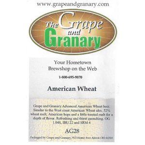 American Wheat: All Grain