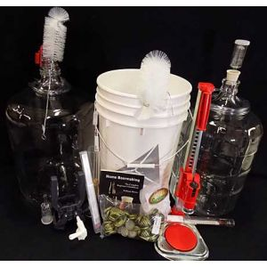 Deluxe Glass Beer Brewing Kit