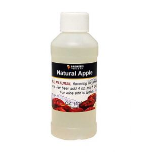 Apple Flavor- 4 oz- Natural