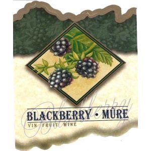 Blackberry Wine Label