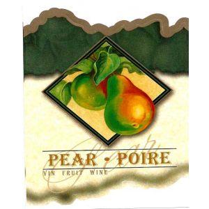Pear Wine Label