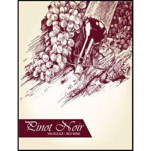 Pinot Noir- Wine Label