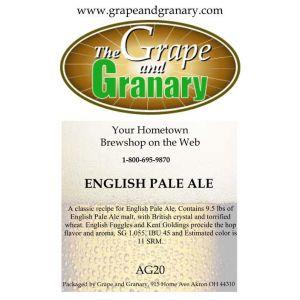 English Pale Ale: All Grain