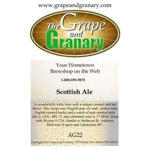 Scottish Ale: All Grain
